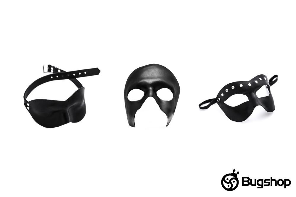 Kožená maska
