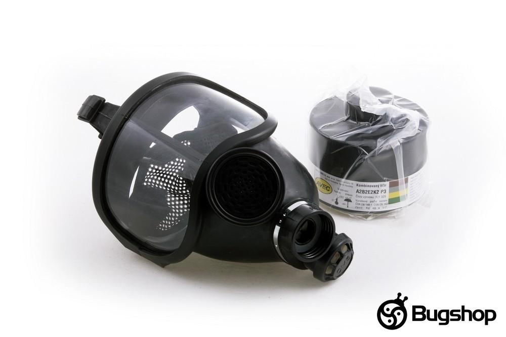 Plynová maska CM-5D