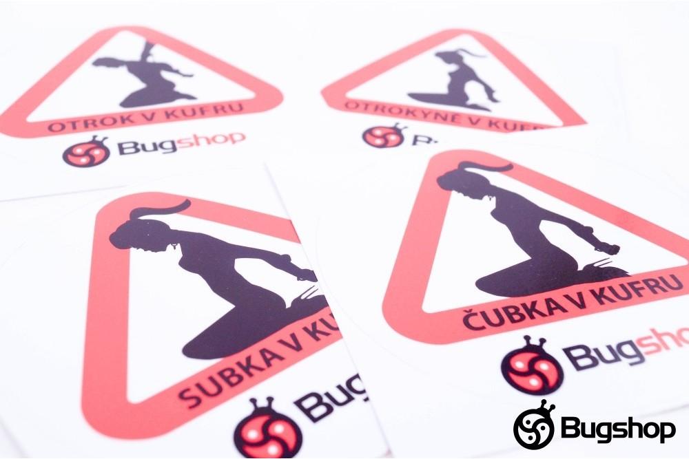 Bugshop sticker
